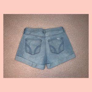 Hollister Shorts - Hollister Co. High Rise Mom Shorts